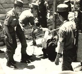 At Le Dau's execution—Da Nang 1965.